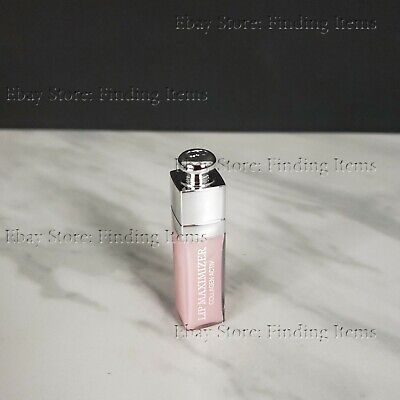 DIOR Addict Lip Maximizer High Volume Lip Plumper Gloss #001 Pink SAMPLE SIZE Dior Lip Maximizer