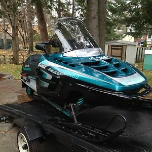 Polaris Sled and Trailer Package