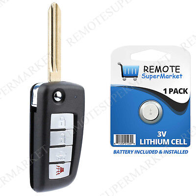 Replacement for Infiniti 2002-06 G35 Q45 2004-10 QX56 Remote Car Flip Key Fob