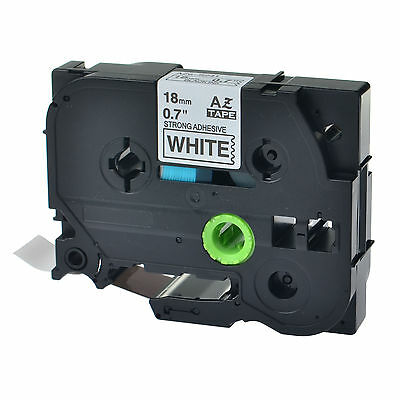1pk Tze-s241 Tz-s241 Black On White Label Tape For Brother P-touch Pt-1880 34
