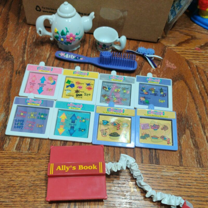 Amazing Ally Interactive Doll Accessories Cartridge Brush Tea  Replacement Lot