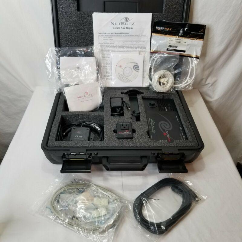 Netbotz Security Environmental Monitoring Kit 400C Wallbotz FD Software
