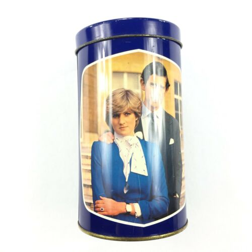 RARE Vintage Tin of Royal Wedding 1981 Princess Diana Collectors LIMITED EDITION
