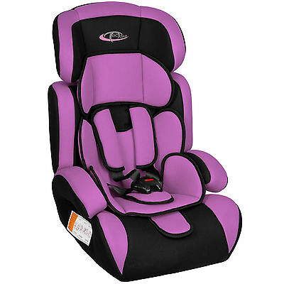 Autokindersitz Autositz Kinderautositz mit Extrapolster 9-36 kg Gruppe 1+2+3 lil