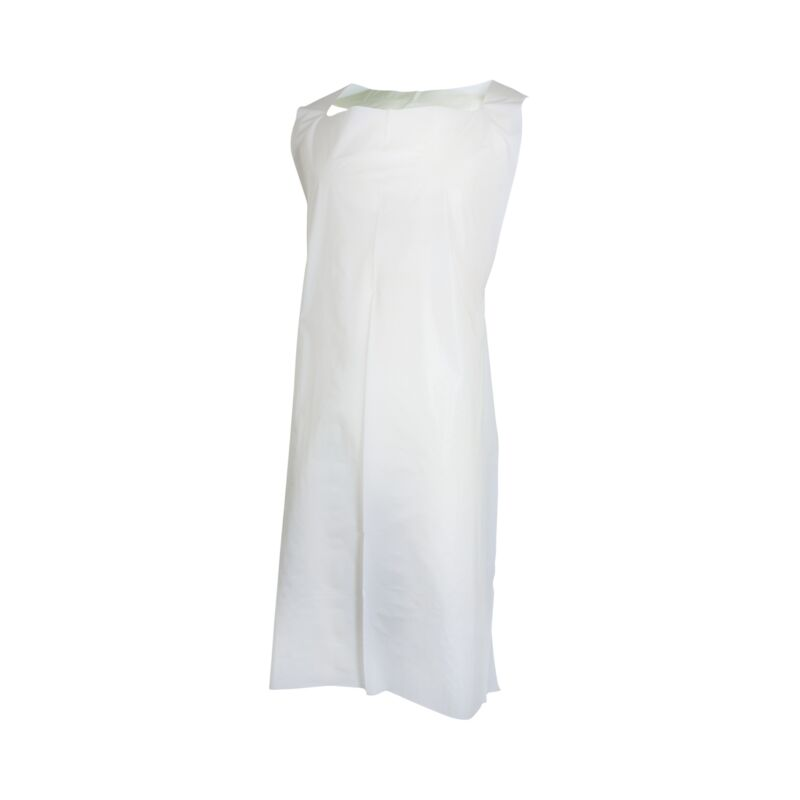 McKesson Unisex Disposable General Purpose Apron White 500 per Case