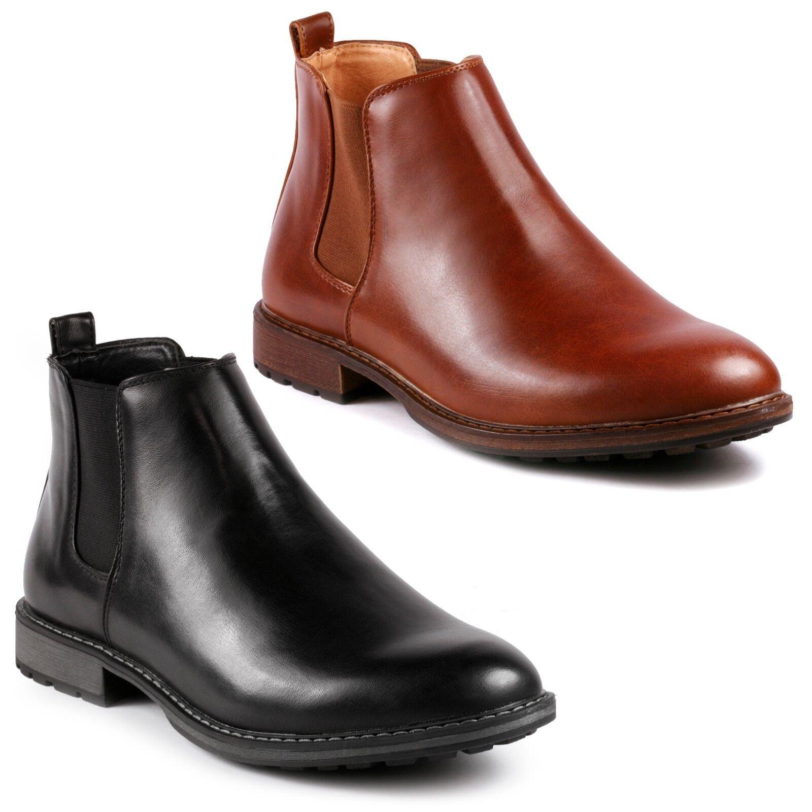 Metrocharm MC137 Men's Casual Fashion Ankle Chelsea Boots