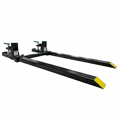 Titan Attachments Ld 46 Clamp-on Pallet Forks Stabilizer Bar Rated 1500