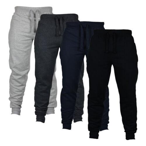 Mens Cargo Long Pants Gym Sport Sweatpants Workout Jogging Casual Slacks Trouser Clothing, Shoes & Accessories