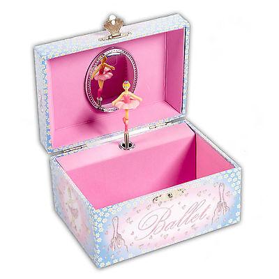 Ballett Schmuckkästchen mit Spieluhr - Musikspieldose für Kinder  -  LUCY LOCKET