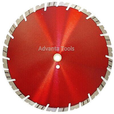 12 Diamond Saw Blade For Hard Concrete Pavers Refractory Brick Block - 15mm