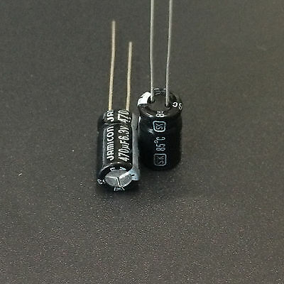 10pcs 6.3v 470uf Jamicon Sk 6.3x11mm 6.3v470uf Standard Electrolytic Capacitor