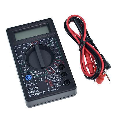 1pc 8 Function Digital Multimeter Dt 830d Ac Dc Voltage Volt 10 Amp Meter Tester