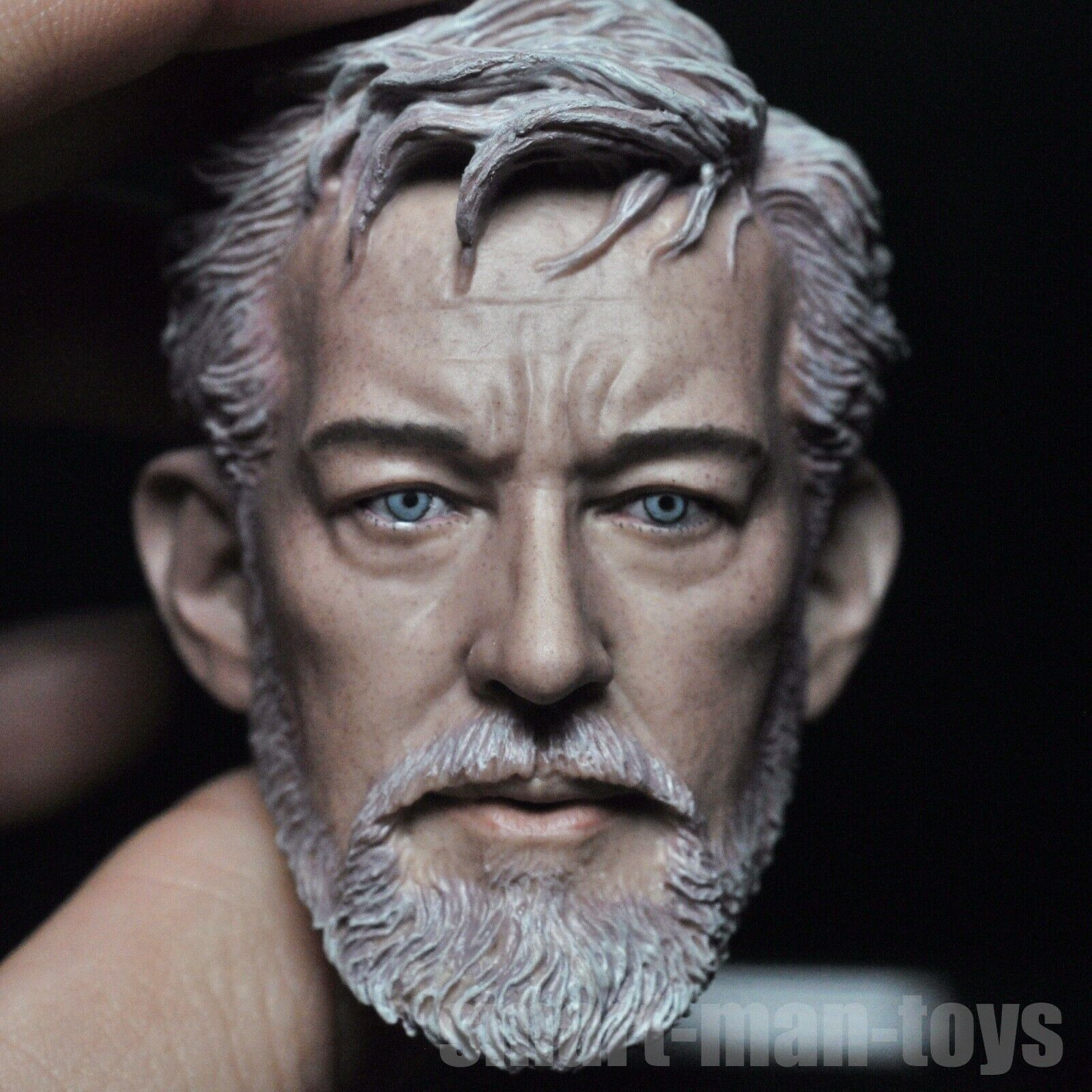 1//6 scale Obi-Wan Kenobi Head Sculpt Star Wars fit 12/'/' Figure Body