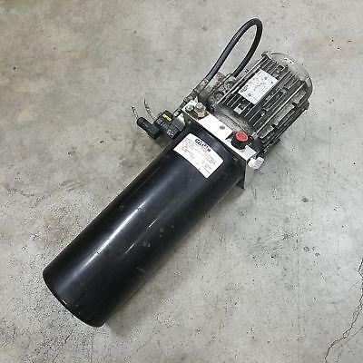 Hydac C02r10v47.6-215-03-9902581099 Hydraulic Pump 3hp 2 Gpm 3120 Psi - Used