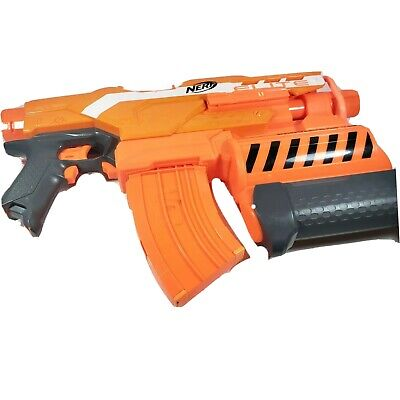 NERF N-Strike Elite Demolisher 2-in-1 Blaster With 10 Round Clip and Bullets