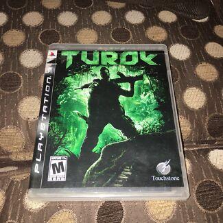 Turok PS3 Game