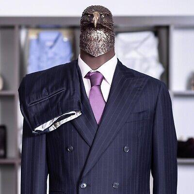 Great $3200 PAL ZILERI SARTORIALE Double Breasted SLIM Suit 40us/50it