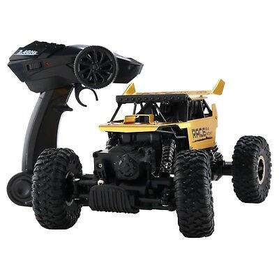 4WD RC Monster Truck Off-Road Vehicle 2.4G Remote Control Buggy Crawler Car gold 4wd Off Road Buggy