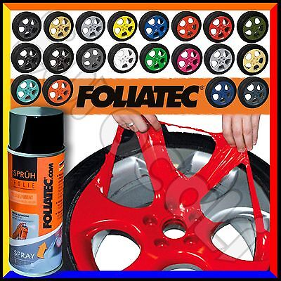 Vernice Removibile FOLIATEC Pellicola Spray 400ml Wrapping Tuning Cerchi Auto