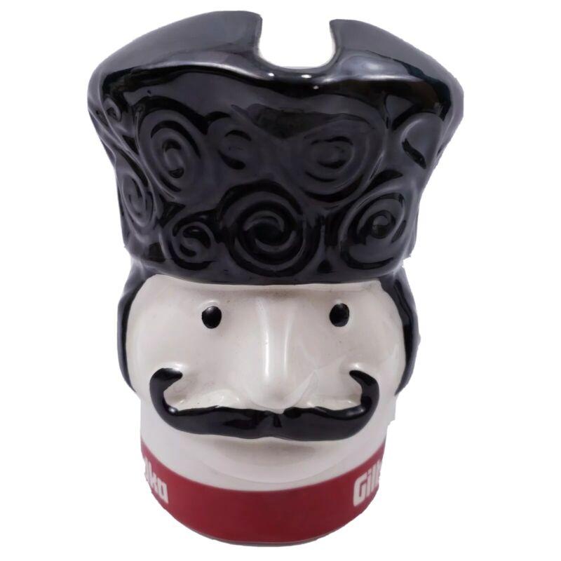 Gilbeys Vodka Pitcher Toby Mug Russian Soldier Mug Barware Vintage Collectable