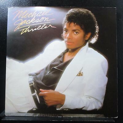 Michael Jackson - Thriller LP VG+ QE 38112 Epic 1982 USA Vinyl Record - Halloween Usa Promo