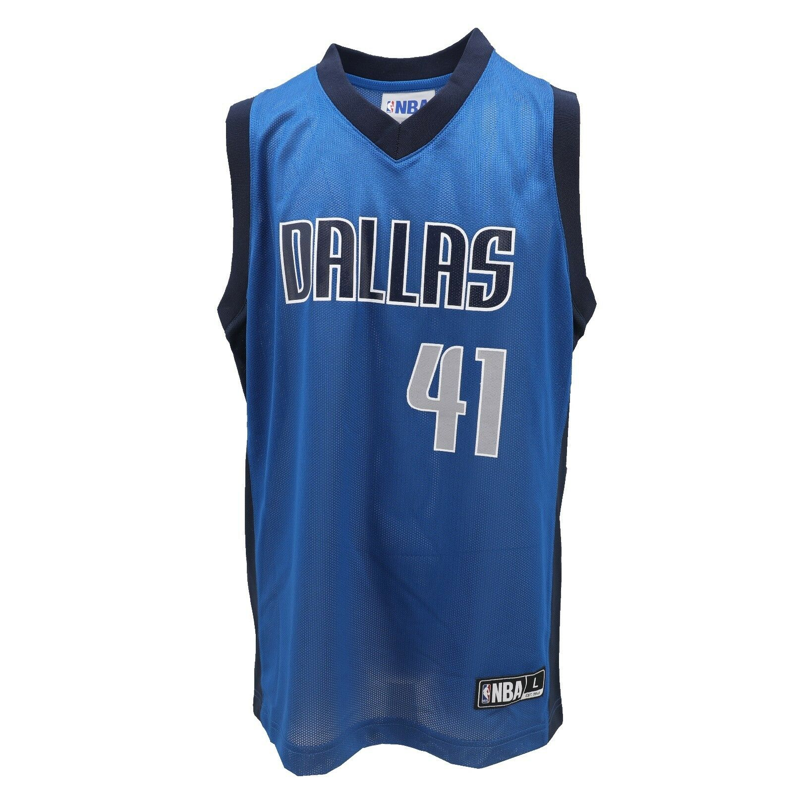 9d21f89e5 Dallas Mavericks NBA Official Kids Youth Size Dirk Nowitzki Jersey New with  Tags