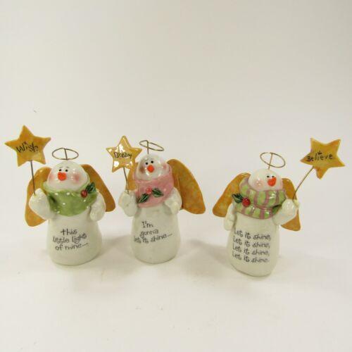 NW Blizzard by Nancye Williams Light the Way Snow Angel Snowman Trio 2004