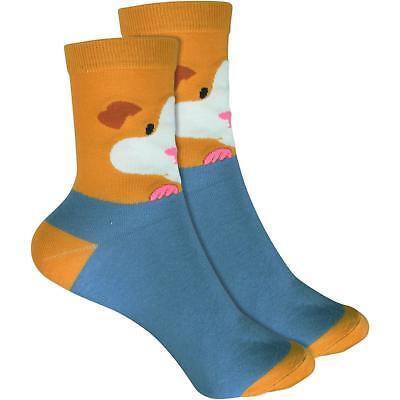 cosey dünne Socken – Meerschweinchen blau (33-40) 1 Paar Baumwolle atmungsaktiv