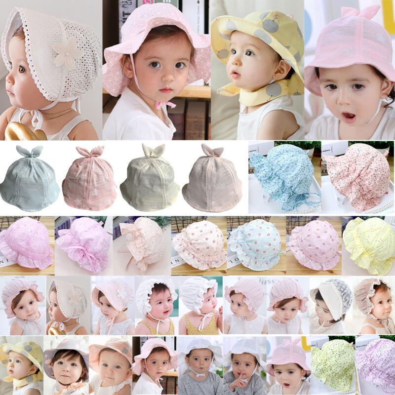Kinder Baby Sommer Sonnenhut Strandhut Mädchen Party Urlaub Baumwolle Hut Kappe