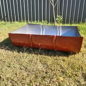Fire pit - half 44 gallon drum (not used)