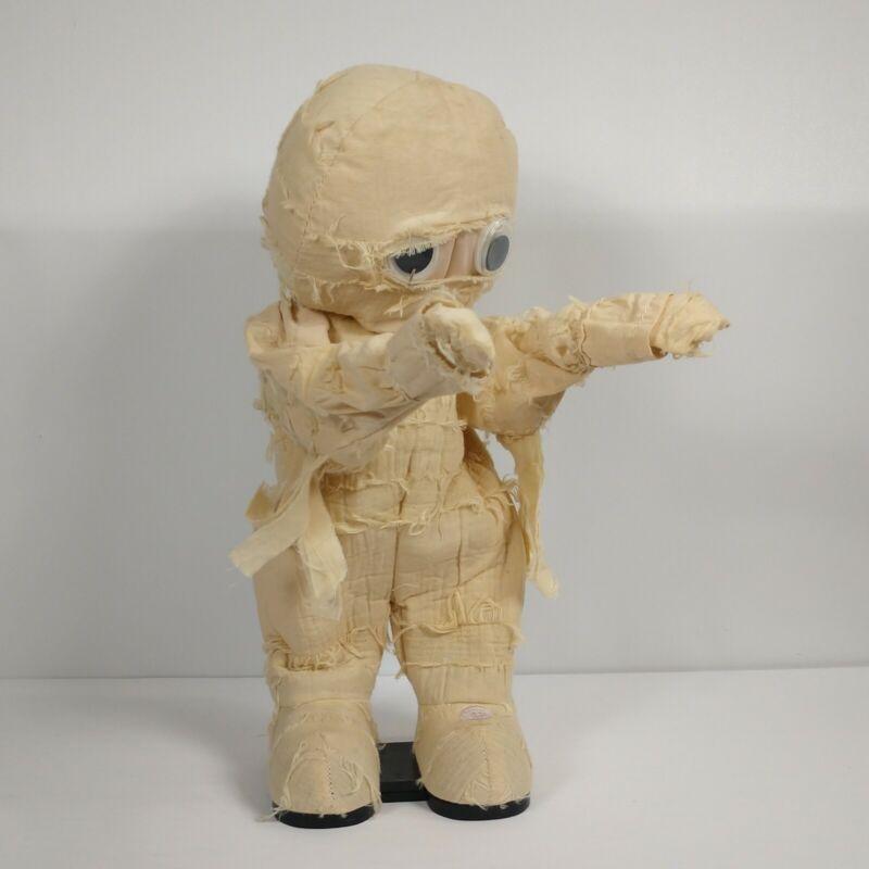 Gemmy Dancing Animated Halloween Mummy Michael Jackson Thriller Rare 12 inches