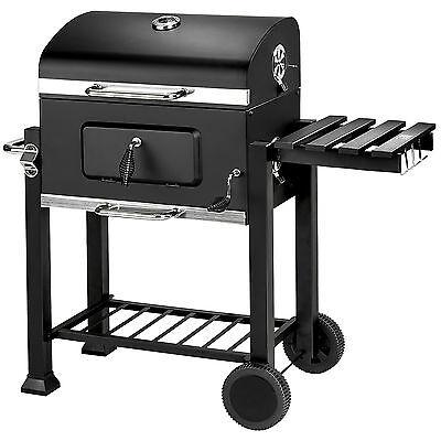 BBQ Griglia a carbonella barbecue smoker giardino legna affumicatoio 115x65x107