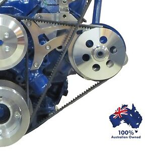 FORD FALCON MUSTANG POWER STEERING BRACKET 289 302 351 WINDSOR USING FORD PUMP