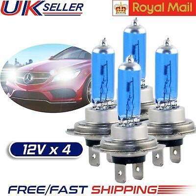 Car Parts - 4 X H7 100W 6000K Xenon HID Super White Effect Look Headlight Lamps Light Bulbs