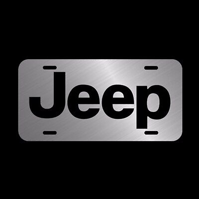 Jeep  License Plate Made In The USA Metal New car tag  cherokee wrangler