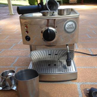 Sunbeam Cafe Series coffee machine New Lambton Heights Newcastle Area Preview