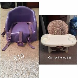 Booster Seats/Highchairs