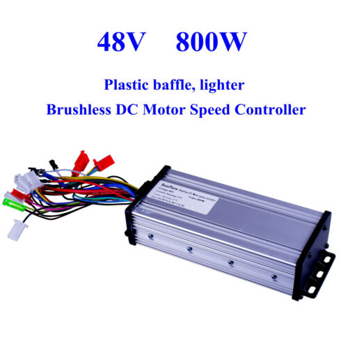 48V 800W Electric Bicycle E-bike Scooter Brushless DC Motor Speed Controller