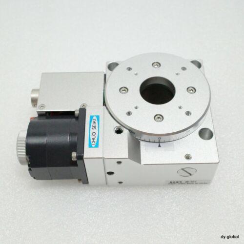 CHUO SEIKI 360Deg rotary motorized Stage Used MM-60Ɵ PH533-NB-C41MRS-I-92=1E24