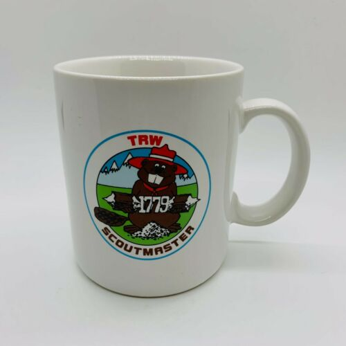 TRW 1779 SCOUTMASTER - PAPEL COFFEE MUG CUP- BEAVER- SCOUTS - 1779 LOGO