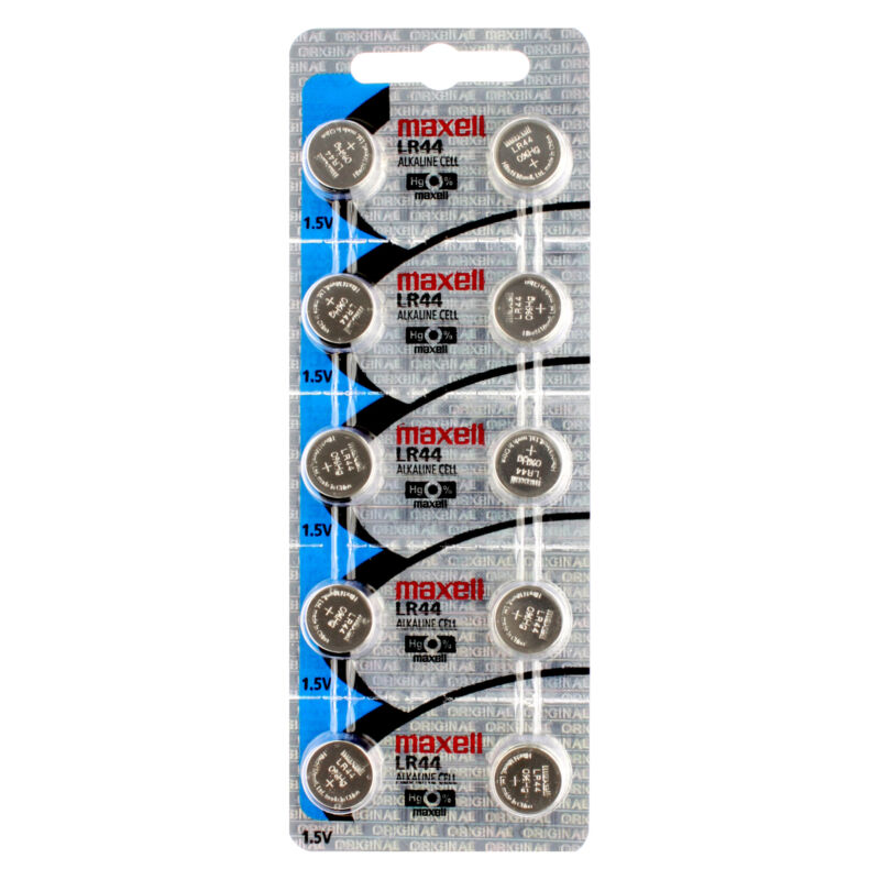 10 x Maxell LR44 Watch Batteries, LR44 Battery | Shipped from USA