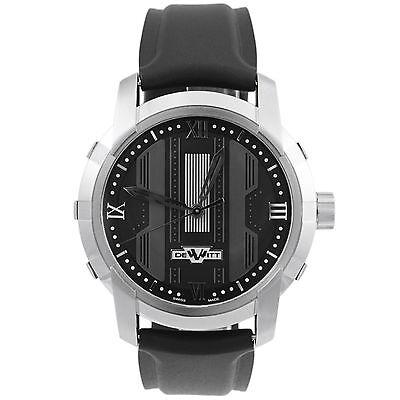 DeWitt Glorious Knight Black Automatic Men's Watch FTV.HMS.001