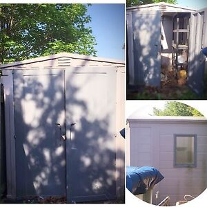 SOLD***for $250... Keter PVC Storage Shed