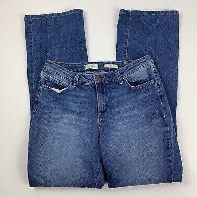 Jessica Simpson Womens 32 Jeans Rockin Curvy Boot Bootcut High Rise Medium (Jessica Simpson Curvy)
