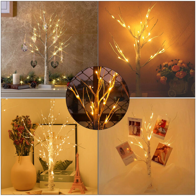 Christmas+Birch+Tree+Light+Up+18+LED+Warm+White+Twig+Tree+Easter+Home+Decor+NEW