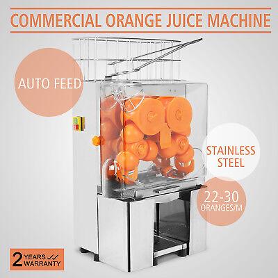 Exprimidor de Naranja Comercial Auto Alimentación Máquina de Zumo de Naranja
