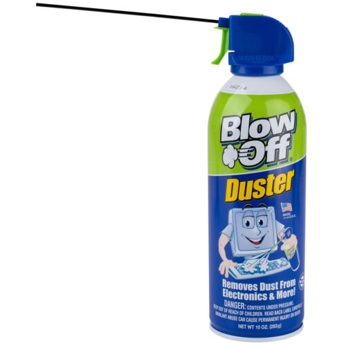 Blow Off Duster 10 oz. Can Air Removes Dust and Debris