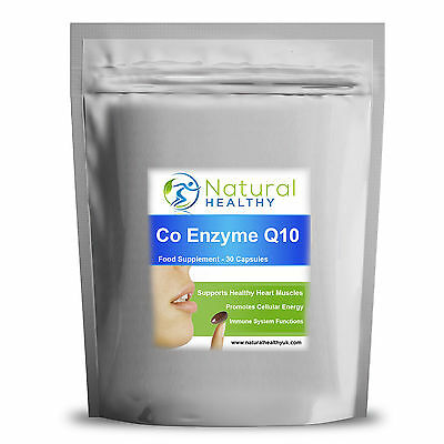 60 Co-Enzyme Q10 - CoQ10 500mg Complex Formula Antioxidant Heart Energy pill
