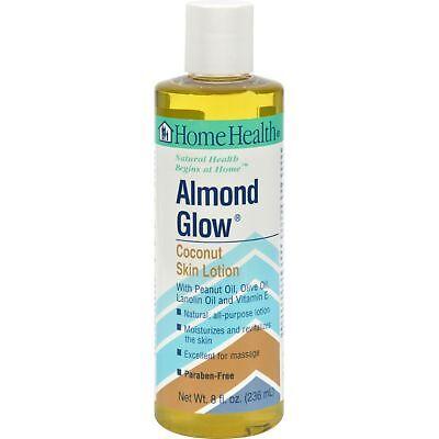 Home Health Almond Glow Skin Lotion, Coconut, 8 Fluid Ounce