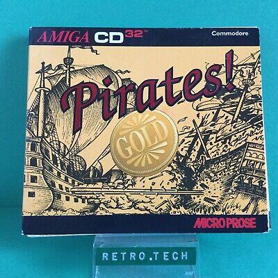 Pirates! Gold - Commodore Amiga CD32